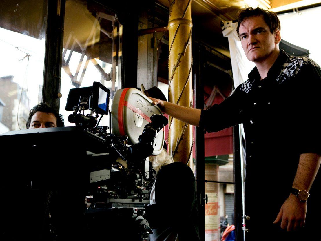© Universal Pictures - Quentin Tarantino am Set von Inglorios Bastards