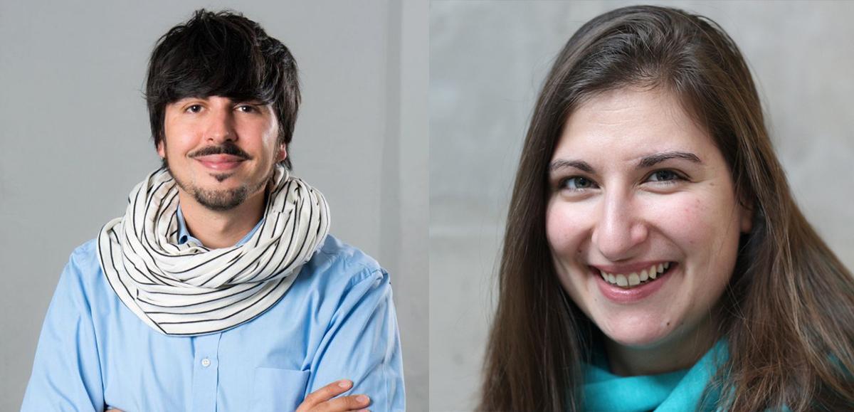 Creative Director Kristian Costa Zahn und Redakteurin Lina Kokaly ©Radio Bremen / Martin von Minden