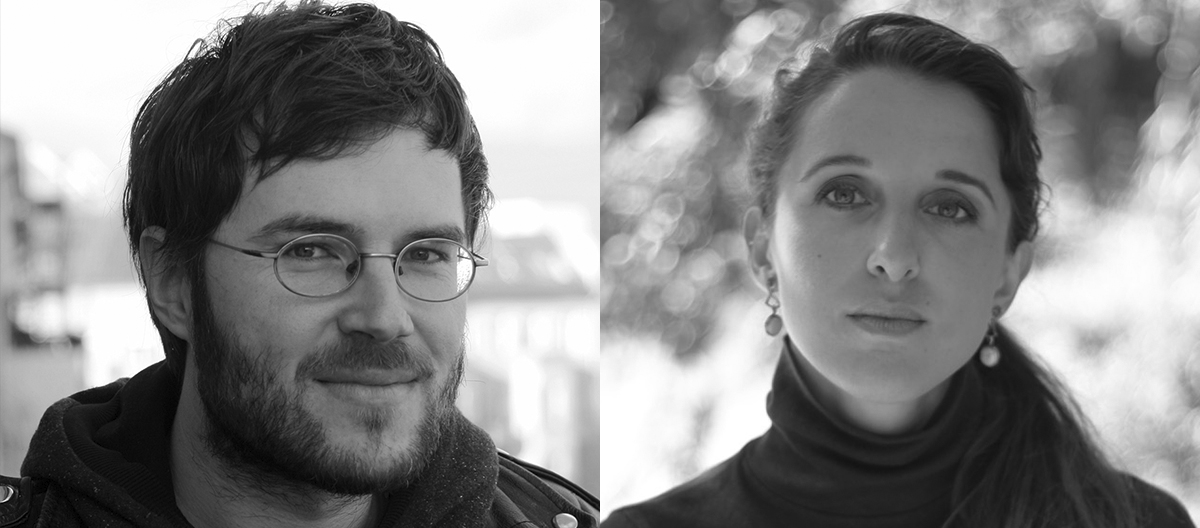 Gäste bei dieser Folge v.l. Till Kleinert (Autor, Regisseur), Anna Stoeva (Autorin, Produzentin)